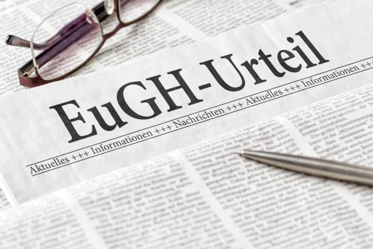 Kaskadenverweis EuGH Urteil: Widerruf nach BGH unzulässig